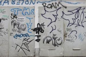 Graffiti lassen sich auch mit CoolSweep entfernen