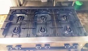 Gastronomie Bräter 6-flammig