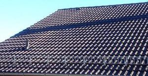 Dachfläche / gereinigt u. hydrophobiert (versiegelt)